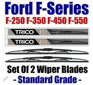 2009+ Ford F250 F350 F-450 F550 F-Series Super Duty Wiper Blades 2-Pk - 30221x2