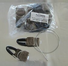Military Modular Tactical Vest Replacement Pull Cables W/Velcro**Qty of 2**NEW**