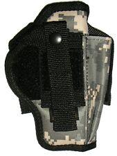 USA Made ACU Digital Camo holster Glock 17 22 23 G34 S&W Auto 40 45 Taurus 9mm
