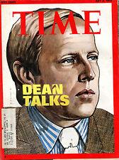 Time Magazine July 2 1973 John Dean VG 071616jhe