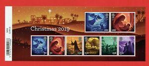 2019 Christmas Minisheet - BARCODE Margin.