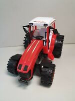 RANCH WORLD TOY TRACTOR RED VINTAGE MODEL