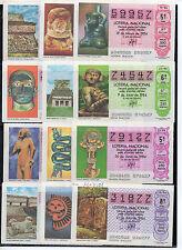España Loteria Nacional Arte Pre Colombino año 1984 (CF723)
