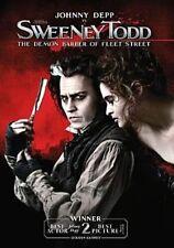 Sweeney Todd The Demon Barber of Fleet Street DVD 2007 Johnny Depp