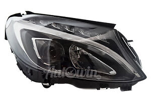 MERCEDES BENZ C-CLASS W205 2014- HEADLIGHT LED RIGHT SIDE GENUINE NEW