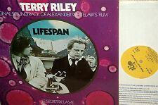TERRY RILEY•lifespan•1975 FRENCH OST LP•a Klaus  KINSKI film!•MEGA RARE PSYCH LP