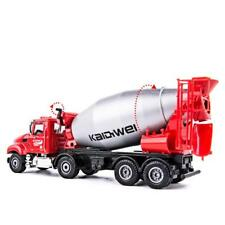 1/50 Scale Diecast Cement Mixer Truck Construction Vehicle Car Model Toys Gift