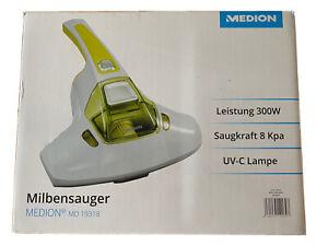 MEDION Anti Milbensauger mit UV-C Licht 300W Milben Handstaubsauger