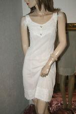 Traumhaftes Nylon Unterkleid weiß süße Romanze süß 44