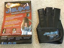 J Glove Shooting Aid Basketball Black Left XL J-GLOVE Big Hands Wide Fingers NEW