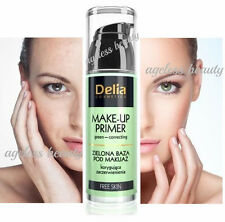 Delia Green Correcting Make-up Primer Reduces Redness Skin 35ml