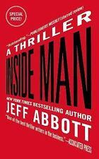 Inside Man-Jeff Abbott-2015 Sam Capra novel #4-combined shipping