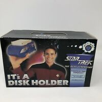 1995 Paramount Brain Works Star Trek The Next Generation Computer Disk/CD Holder