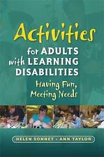 Activities for Adults With Learning Disabilities: Having Fun, Meeting-ExLibrary