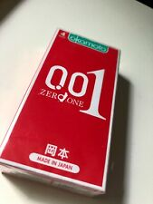 OKAMOTO 001 Made in Japan 0.01 mm Condoms (4 pieces)