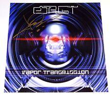 ORGY JAY GORDON SIGNED VAPOR TRANSMISSION 12X12 ALBUM COVER PHOTO!!!