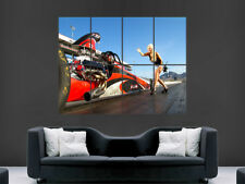 Drag Racing POSTER AUTO DRAGSTER Sexy Girl velocità USA Wall Art Print PICTURE