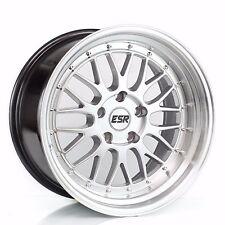 ESR SR05 18x9.5 18x10.5 +22 5x120 Silver BMW E39 E60 E90 E92 540i M5 M3 335i E63
