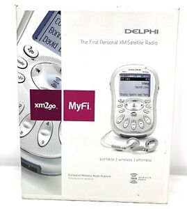 Delphi MyFi The First Portable XM 2go Portable Satellite Radio Receiver
