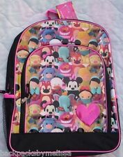Disney Pook-A-Looz Canvas Backpack NEW Book Bag Tote Mickey Minnie Eeyore Dumbo