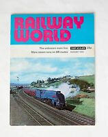 Back Issue Railway World Magazine: August 1972 Mint Condition