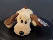 1994 Ty BONES Brown Puppy - Dog Beanie Baby DOB 1-18-94 With Tag Protector