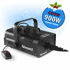 BEAMZ 900w HIGH OUTPUT Pro Artificial Snow effect flake FX Machine & Remote