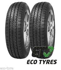 2X Tyres 155 R12C 88/86Q 8PR House Brand Trailer commercial E E 70dB