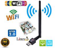 Routeur USB Wifi 600 Mbps Adaptateur sans fil Carte LAN Antenne PC Ordinateur