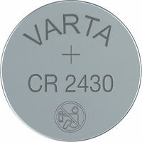 1 x Varta Lithium Button Cell Coin Battery CR2430 3v