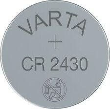 1 x Varta Lithium Button Cell Coin Battery CR2430 3v