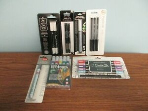 CHALK MARKERS, GEL PENS, SPECIALTY MARKERS, LEAFING PENS BY PROJECT LIFE & MORE