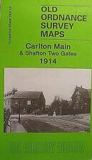 Old Ordnance Survey Map Carlton Main & Shafton Two Gates Yorkshire 1914 S263.13