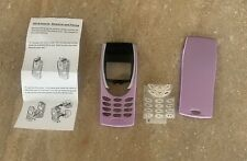 Retro 8210 fascia front and back cover housing mobile cell case and keypad. VGC