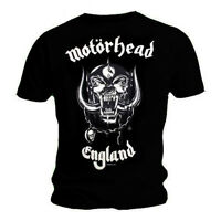 Official T Shirt MOTORHEAD Everything Louder ENGLAND - NEW & OFFICIAL!