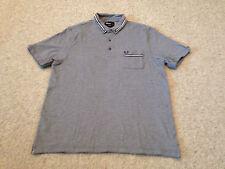 FRED Perry Uomo Polo Shirt color navy taglia adulto medio (M2)