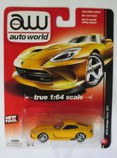 Auto World 1:64 Dodge Viper SRT 2014 yellow Brand new