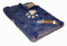 Tapis Confortbed Vetbed Dry Extra bleu jean's à grosses pattes 100x150 cm , 26 m