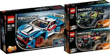LEGO TECHNIC 42077 42073 42072 rallyeauto autre! ZACK! n1/18
