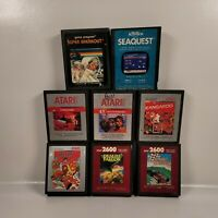 Atari 2600 Game Lot of 9 Games Vintage Untested