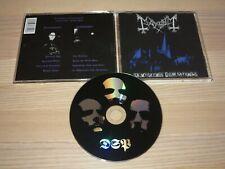 Mayhem CD - De Mysteriis Dom Sathanas / NORWAY REPRESS in MINT