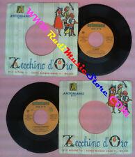 LP 45 7'' ZECCHINO D'ORO Il karate'E'fuggito l'agnellino ANTONIANO no cd mc vhs
