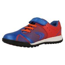 Chaussures rouges à lacets en cuir pour garçon de 2 à 16 ans