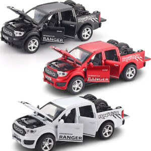 1:32 Scale Ford Raptor F350 Model Diecast car Alloy off-Road Truck kids Toy Gift