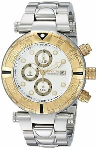 Invicta 24983 Subaqua Noma Limited Edition Chronograph White Dial S/S Bracelet