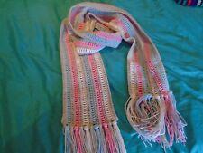 NUOVA Sciarpa hand crocheted in Colori Pastello