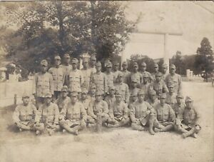 OLD VINTAGE PHOTO ASIA JAPAN JAPANESE MILITARY MEN UNIFORM  BX1