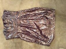 New BCBGMAXARIA Coctail Sparkle dress Lilia Mistsize 4 $258 new with tag