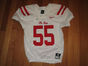 Authentic NIKE Ole Miss Rebels Victory Formation Football Jersey YOUTH Medium