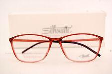 New Silhouette Eyeglass Frames SPX ILLUSION 1560 6059 Rose Women